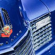 1941 Cadillac Emblem Poster by Jill Reger
