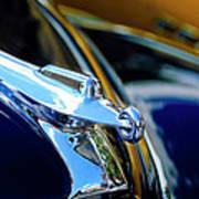 1947 Packard Hood Ornament 4 Poster by Jill Reger