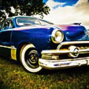 1951 Ford Custom Poster by Phil 'motography' Clark