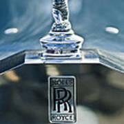 1952 Rolls-royce Hood Ornament Poster by Jill Reger