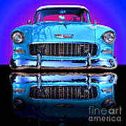 1955 Chevy Bel Air Poster by Jim Carrell