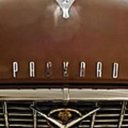 1955 Packard 400 Hood Ornament Poster by Jill Reger