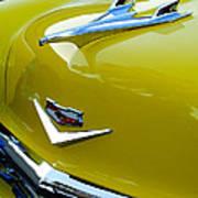 1956 Chevrolet Hood Ornament 3 Poster by Jill Reger