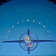 1956 Lincoln Continental Mark II Emblem Poster by Jill Reger