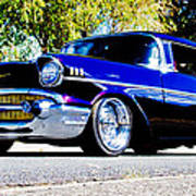 1957 Chevrolet Bel Air Poster by Phil 'motography' Clark