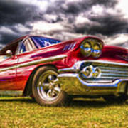 1958 Chevrolet Impala Poster by Phil 'motography' Clark