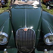 1959 Jaguar Xk150 Dhc 5d23302 Poster by Wingsdomain Art and Photography