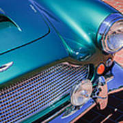 1960 Aston Martin Db4 Series II Grille Poster by Jill Reger