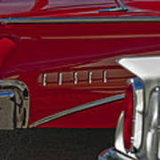 1960 Edsel Taillight Poster by Jill Reger