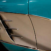 1961 Chevrolet Corvette Poster by David Patterson