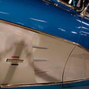 1961 Chevrolet Corvette V Poster by David Patterson