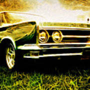 1966 Chrysler 300 Poster by Phil 'motography' Clark