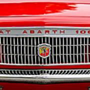 1967 Fiat Abarth 1000 Otr Grille Poster by Jill Reger