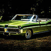 1967 Pontiac Bonneville Poster by motography aka Phil Clark