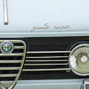 1968 Alfa Romeo Giulia Super Grille Poster by Jill Reger