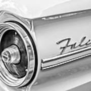 1963 Ford Falcon Futura Convertible Taillight Emblem Poster by Jill Reger