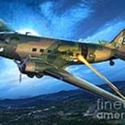 Ac-47 Spooky Poster by Stu Shepherd