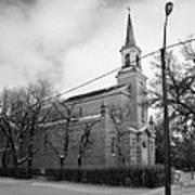 former st josephs catholic church in Forget Saskatchewan Canada Poster by Joe Fox