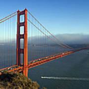 Golden Gate Bridge Poster by Melanie Viola