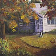 Grandma's House Poster by Bev Finger