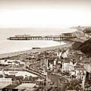 Hastings Poster by Sharon Lisa Clarke