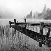 Loch Ard Early Mist Poster by John Farnan