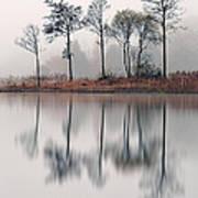 Loch Ard Reflections Poster by Grant Glendinning