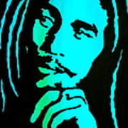 Marley Poster by Debi Starr
