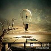 Night Walk Poster by Franziskus Pfleghart