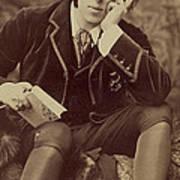 Oscar Wilde 1882 Poster by Napoleon Sarony