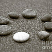 Pebbles Poster by Frank Tschakert