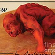 Raw Poster by Anastasiya Verbik
