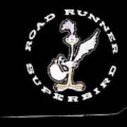 Road Runner Superbird Emblem Poster by Jill Reger