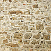 Stone Wall Poster by Matthias Hauser
