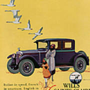 Wills Sainte Claire 1925 1920s Usa Cc Poster by The Advertising Archives