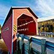 Wooden Covered Bridge  Poster by Ulrich Schade