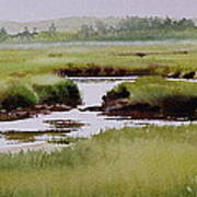 Yarmouthport Marsh Poster by Karol Wyckoff