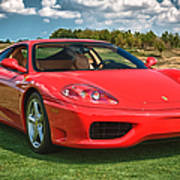 2001 Ferrari 360 Modena Poster by Sebastian Musial