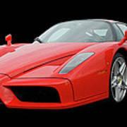2002 Enzo Ferrari 400 Poster by Jack Pumphrey
