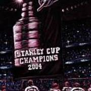 2004 Champs Poster by Marlon Huynh