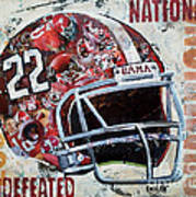 2009 Alabama National Champions Poster by Alaina Enslen