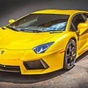 2013 Lamborghini Adventador Lp 700 4 Poster by Rich Franco