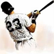 23   Don Mattingly  Poster by Iconic Images Art Gallery David Pucciarelli