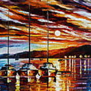 3 Borthers Poster by Leonid Afremov