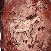 Cave Art Poster by Shelley Bain