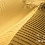 Desert Sand Dune Poster by Ezra Zahor