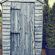 Garden Shed Poster by Amanda Elwell