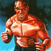Mike Tyson Poster by Paul Meijering