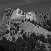 Mount Rushmore Poster by Frank Romeo