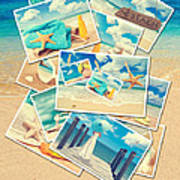 Summer Postcards Poster by Amanda And Christopher Elwell